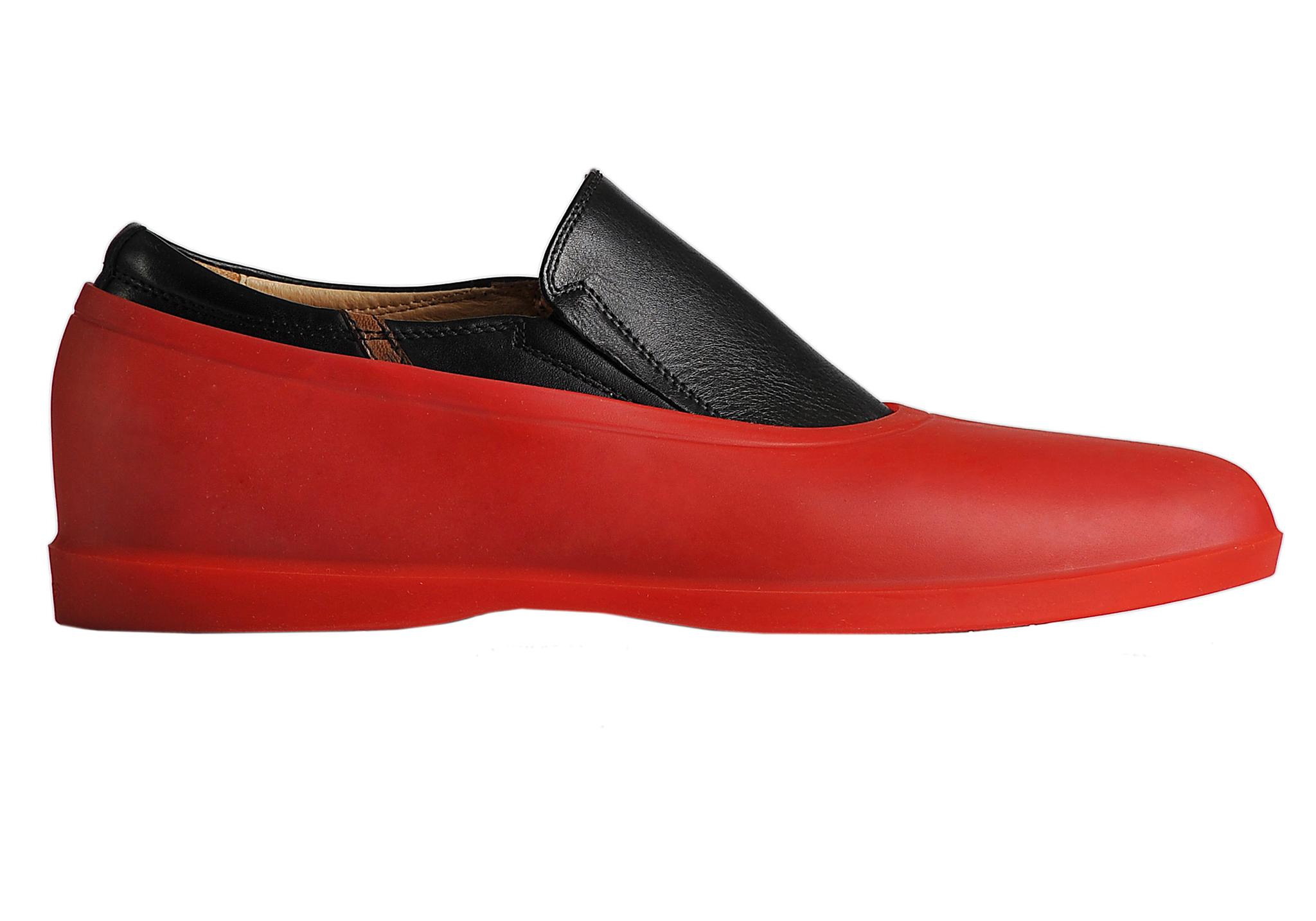 Галоши Мужские галоши открытого типа цвет красный DSC_0006.jpg