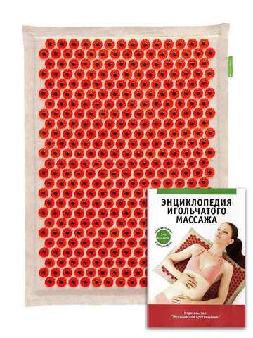 Красный игольчатый коврик