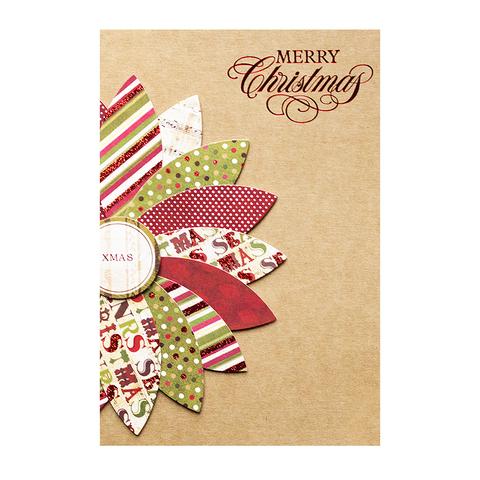 Открытка Merry Christmas Omela