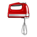Миксер ручной красный, артикул 5KHM9212EER, производитель - KitchenAid