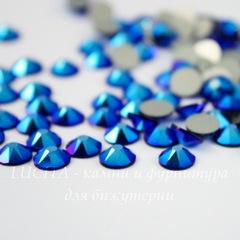 2088 Стразы Сваровски холодной фиксации Cobalt Shimmer ss 12 (3,0-3,2 мм), 10 штук