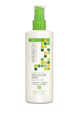 Спрей-кондиционер для восстановления жёстких и вьющихся волос Andalou Naturals | Коллекция
