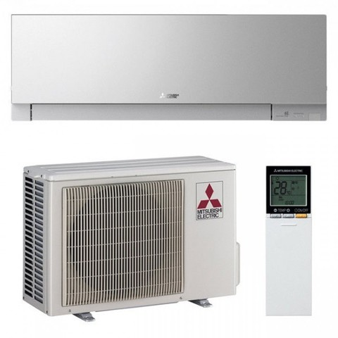 Кондиционер Mitsubishi Electric DESIGN INVERTER silver, фото1