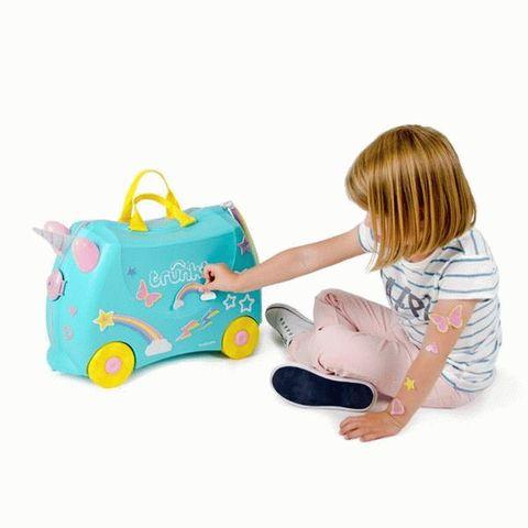 Детская чемодан-каталка на колесиках Trunki Единорог Уна