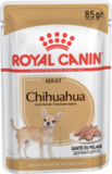 ROYAL CANIN ADULT CHIHUAHUA КОНСЕРВЫ ДЛЯ СОБАК ПОРОДЫ ЧИХУАХУА ОТ 8 МЕСЯЦЕВ, ПАШТЕТ 1Х85 Г., ПАУЧ (165012)