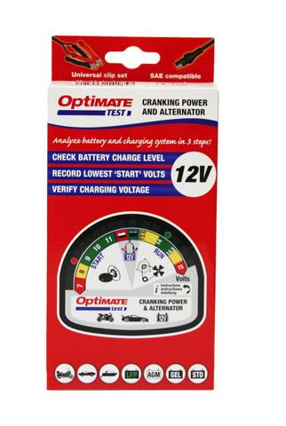 Тестер аккумуляторных батарей OptiMate Test (TS120)