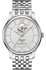 Мужские швейцарские часы Tissot T063.907.11.038.00 Tradition Powermatic 80 Open Heart