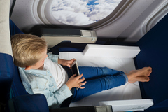 Bedbox Jetkids детский чемодан-кровать красная