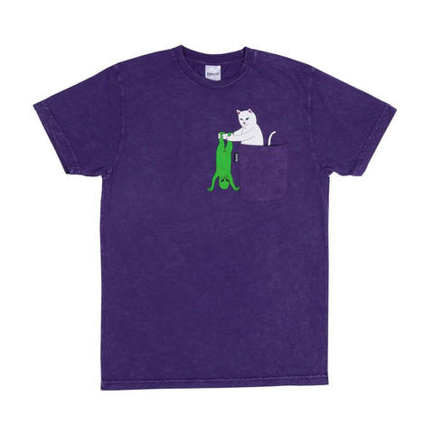 Футболка RIPNDIP Break Yo Self (Purple Mineral Wash)