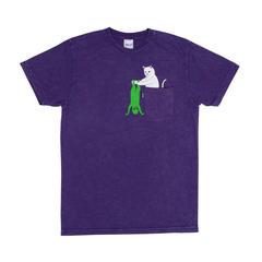 Футболка RIPNDIP Break Yo Self (Purple/Mineral Wash)