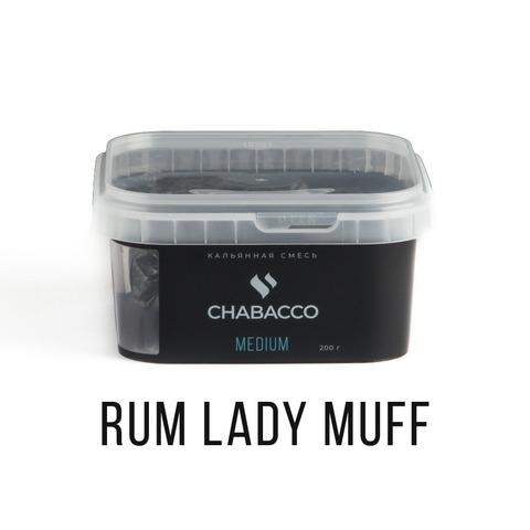Chabacco 200гр - Rum lady muff (Ром-баба)