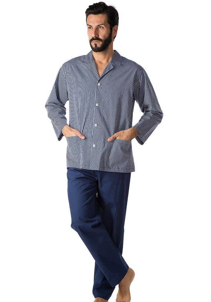 Хлопковая мужская пижама B&B (Домашние костюмы и пижамы)