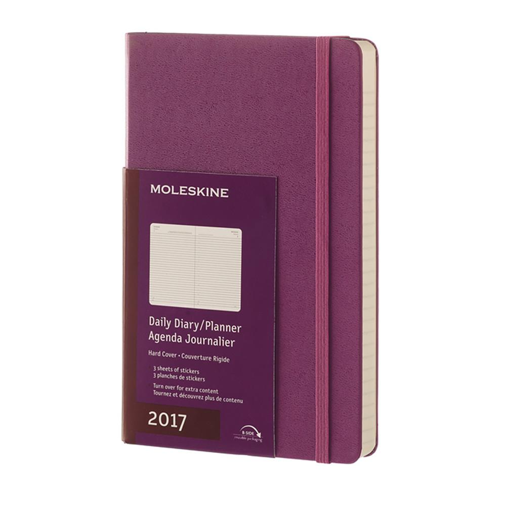 Ежедневник Moleskine Classic Daily Large, цвет фиолетовый