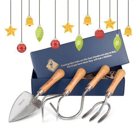 Набор садовых инструментов (совок, аэратор, вилка, культиватор) Sneeboer