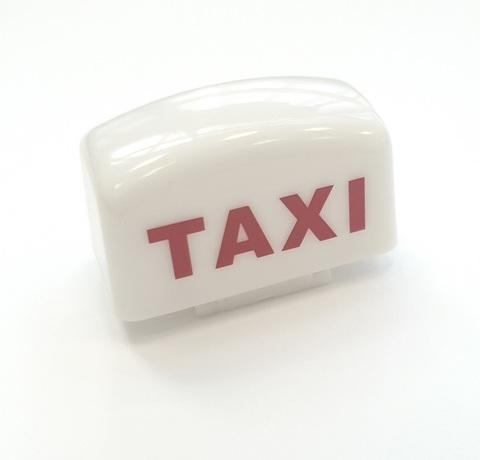 Заглушка для вспышки TAXI (белая)