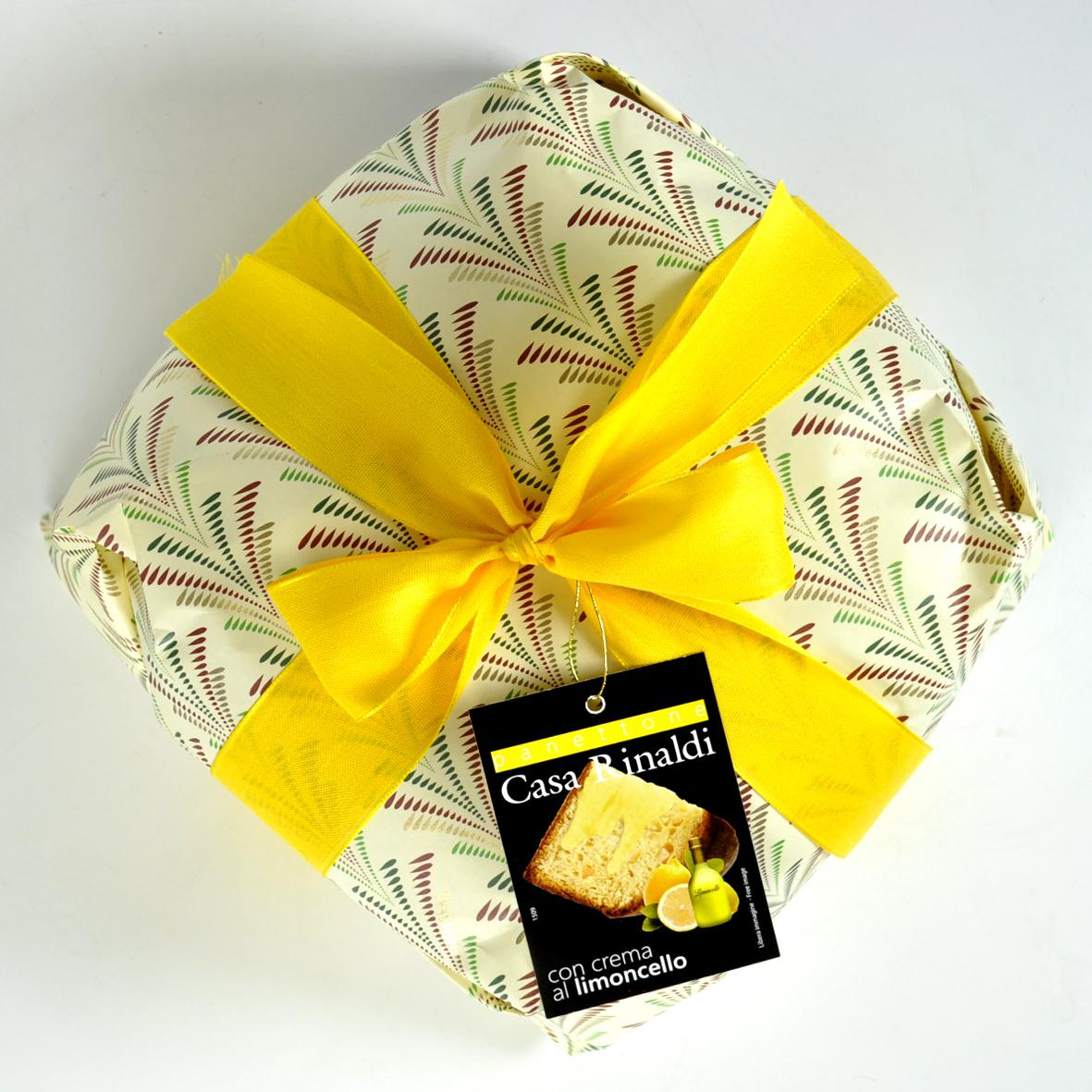 Кулич с кремом Лимончелло 1 кг