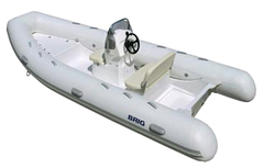Лодка РИБ с жестким дном BRIG F500L