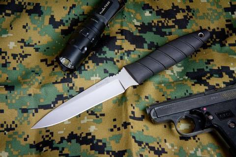 Тактический нож Витязь Полированный Эластрон