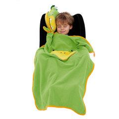 Подушка с Пледом Динозаврик