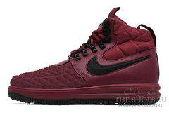 Кроссовки Мужские Nike Lunar Force 1 Duckboot 17 Burgundy