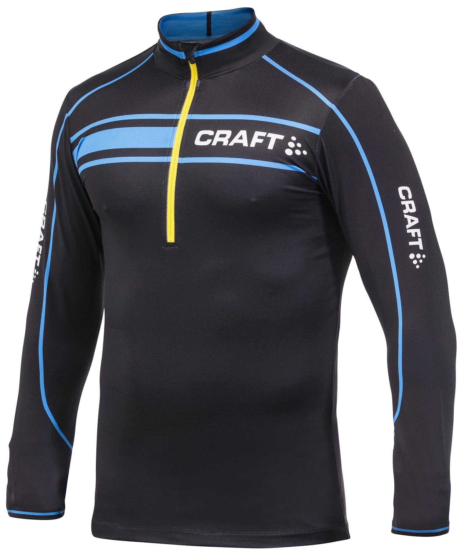 Мужская лыжная гоночная рубашка Craft PXC (1902812-9548) темно-синяя фото