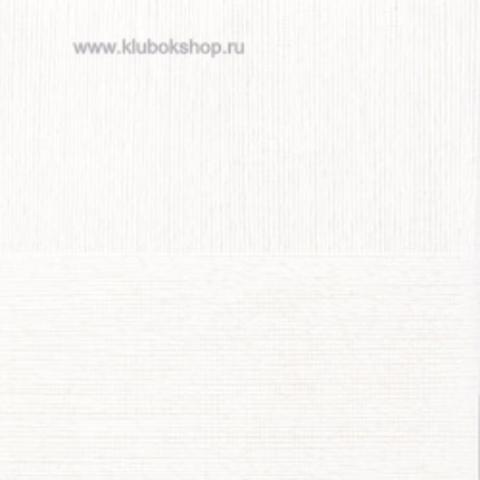 Пряжа Вискоза натуральная Пехорский текстиль Белый 01