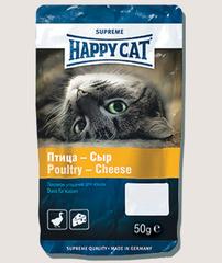 Лакомство для кошек Happy Cat с курицей и сыром