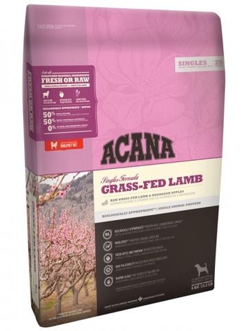 Acana Grass-Fed Lamb корм для собак всех пород и возрастов (ягненок) 11,4кг