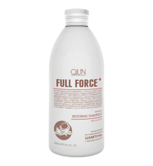 OLLIN full force интенсивный восстанавливающий шампунь с маслом кокоса 300мл