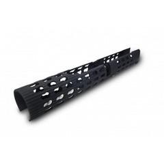 Цевье длинное трубчатое для нарезных карабинов АК / САЙГА / ВЕПРЬ VS-24U с креплением keymod (адаптирована под газоотводную трубку Ultimak)