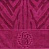 Набор полотенец 3 шт Roberto Cavalli Zebrona малиновый