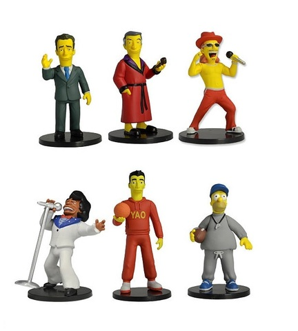 The Simpsons 25th Anniversary Mini Figure Series 01