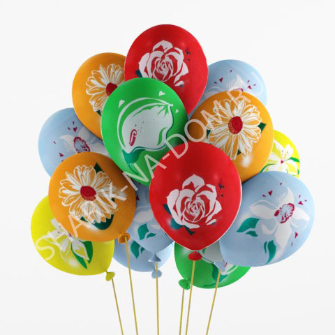 Шары 14 февраля Шары Цветы Воздушные_шары_Цветы.jpg