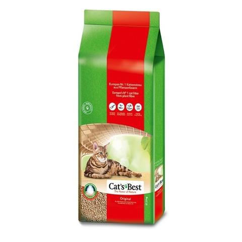 Cat's Best Original Наполнитель древесный комкующийся - 40 литров