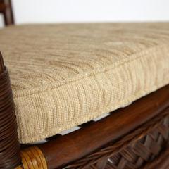 Комплект террасный ANDREA (с подушкой) ротанг, 64х67х92см / D60х55, Pecan Washed (античн. орех)