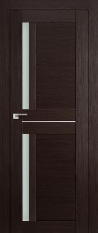 > Экошпон Profil Doors №19X-Модерн, стекло матовое, цвет венге мелинга, остекленная
