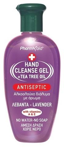 Антисептический гель для рук Лаванда Pharmaid 100 мл