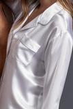 Белая шелковая пижама Zimmerli