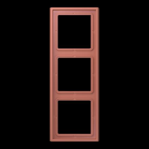 Рамка на 3 поста. Цвет Ombre naturelle 31. JUNG Les Couleurs® Le Corbusier. LC98332121