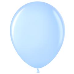 МЛ 5'' Светло-голубой (454), пастель, 100 шт.