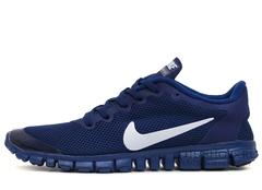 Кроссовки Мужские Nike Free Run 3.0 V2 Navy White