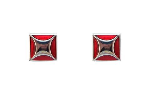 Запонки мужские Ruby-Ruby