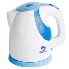 Чайник электрический 1,7л ВАСИЛИСА Т24-2200 белый с сиреневым