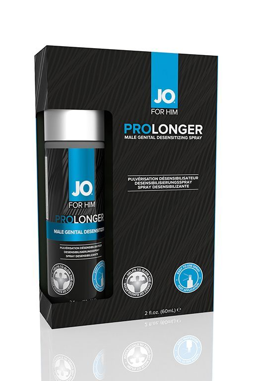 Пролонгаторы: Спрей-пролонгатор для мужчин JO Prolonger - 60 мл.
