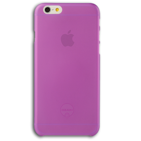 Ozaki O!coat 0.3 Jelly for iPhone 6 / 6S Purple (фиолетовый)