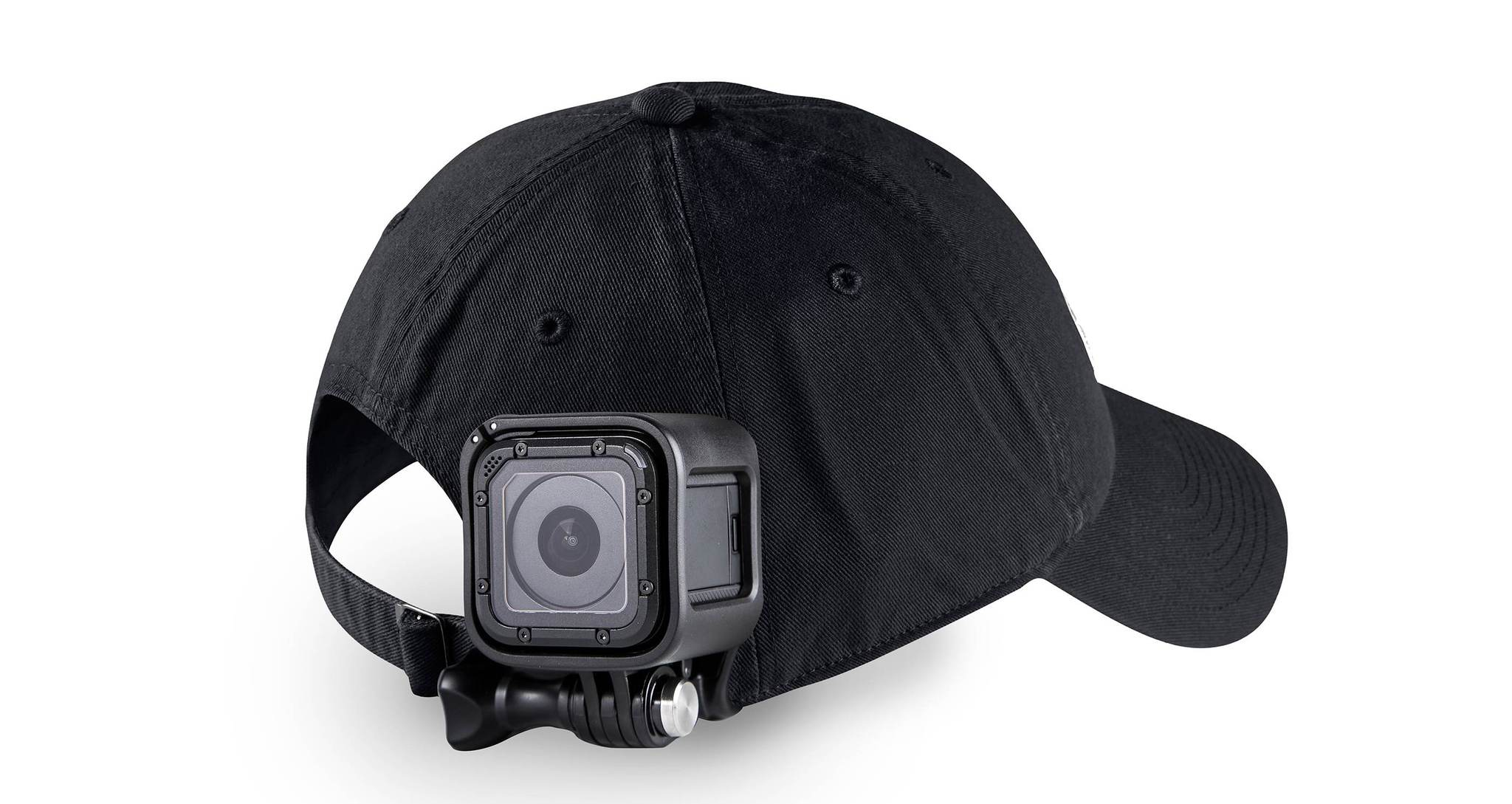 Крепление на голову + крепление-клипса на одежду Headstrap + QuickClip на кепке