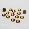 2028/2058 Стразы Сваровски холодной фиксации Topaz ss12 (3,0-3,2 мм), 12 штук
