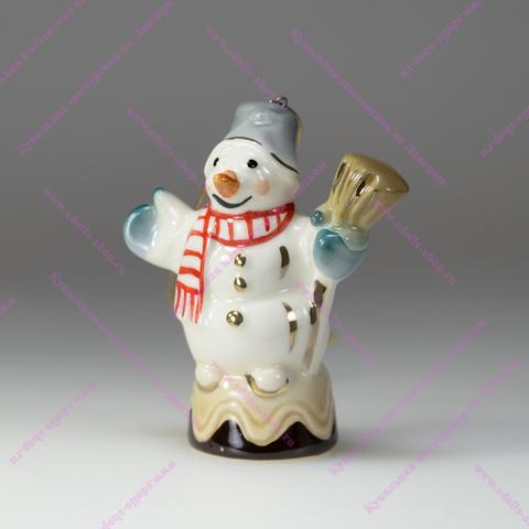 Снеговик на конфетке