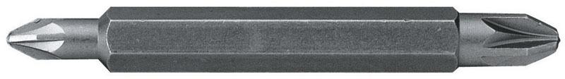 Вставка шестигранная двухсторонняя  Ph1/Ph2  Stanley 1-68-784