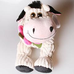 Игрушка ''Корова Глаша с цветком''
